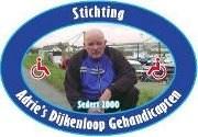 Adrie's Dijkenloop G-sport logo print