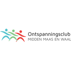 Ontspanningsclub Midden Maas en Waal logo print