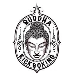 Buddha Kickboxing logo print