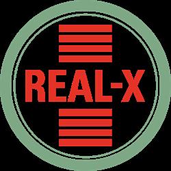 Stichting Real-X logo print