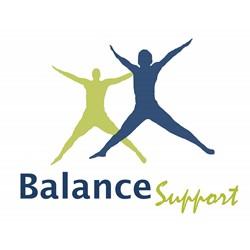 Balance Support logo print