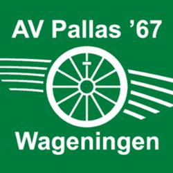 Atletiekvereniging Pallas '67 logo print