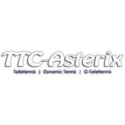 Asterix logo print