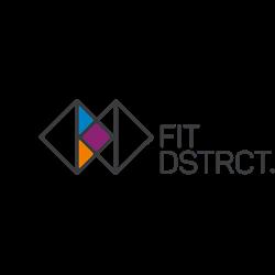 Fit District Gennep logo print