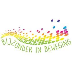 Bijzonder in Beweging logo print