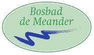 Bosbad de Meander logo print