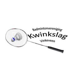 Badmintonvereniging Kwinkslag Vinkeveen logo print