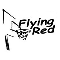 Basketbalvereniging Flying Red logo print
