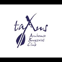 Boogschietclub Taxus logo print