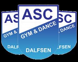 ASC Gym en Dance logo print