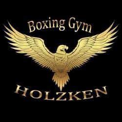 Boxing Gym Holzken logo print