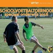 Schoolvoetbaltoernooi speciaal onderwijs afbeelding nieuwsbericht