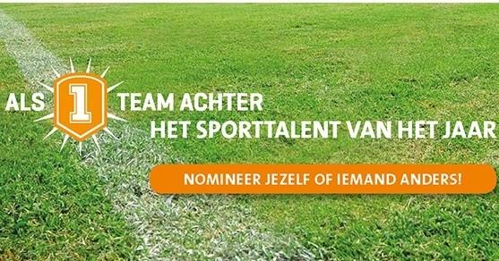 Zoektocht landelijk Sporttalent van het Jaar! afbeelding nieuwsbericht