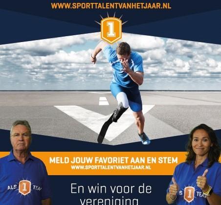 Verkiezing Sporttalent 2015 afbeelding nieuwsbericht