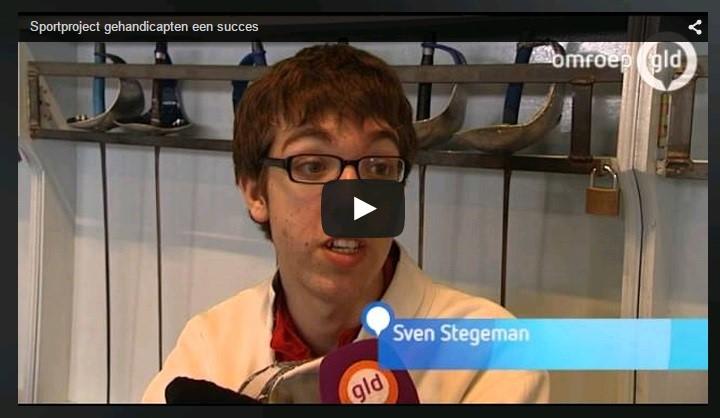 Omroep Gelderland: Sportproject gehandicapten een succes afbeelding nieuwsbericht