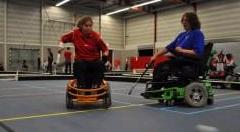 Elektrische rolstoelhockeyers sluiten aan bij hockeyvereniging Upward afbeelding nieuwsbericht