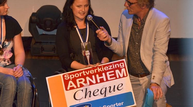 Aniek van Koot aangepast sporter van het jaar tijdens Arnhemse Sportverkiezing afbeelding nieuwsbericht
