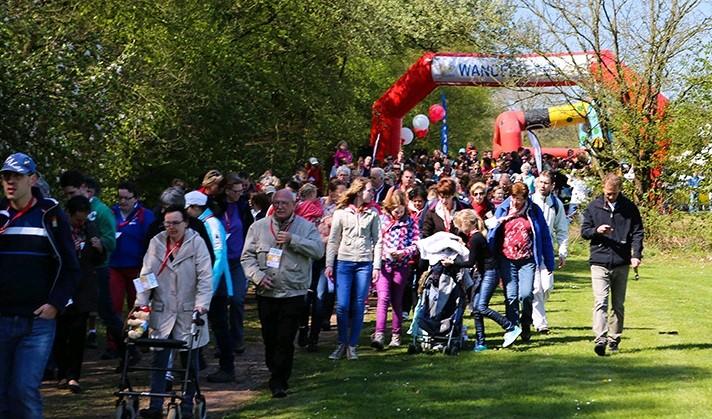 Tweede editie Wandelfeest groot succes afbeelding nieuwsbericht