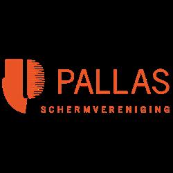Schermvereniging Pallas logo print