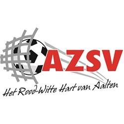 AZSV logo print