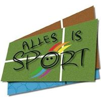 Alles is sport logo print