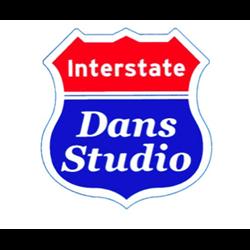 Interstate Dans Studio logo print
