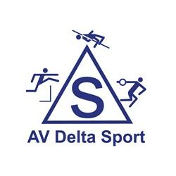 Atletiekvereniging Delta Sport logo print