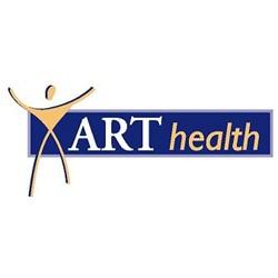 ART-health fysiotherapie logo print