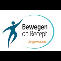 Bewegen op Recept logo print