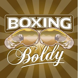 Boxing Boldy logo print