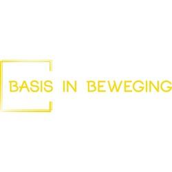 Basis in Beweging logo print
