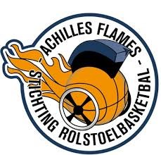 Achilles Flames  logo print