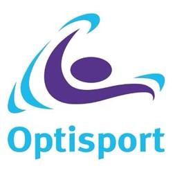 Optisport Klundert logo print