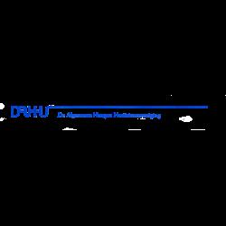 De Algemene Haagse Harttrimvereniging logo print