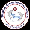 Logo Stichting Gehandicaptenduiksport W.- F.: Fun Diving