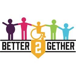 Better2Gether logo print
