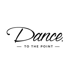 Dance To The Point logo print