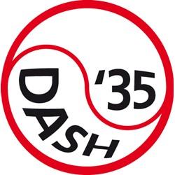 D.L.T.C. Dash'35 logo print