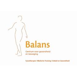 Balans - Centrum voor Gezondheid en Bewegen logo print