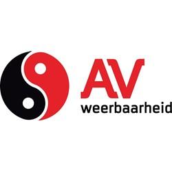 AV weerbaarheid logo print