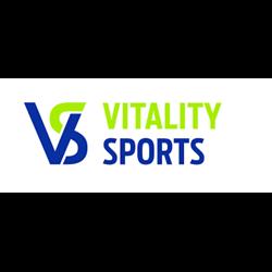 Vitality Sports logo print