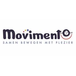 Bewegen met Movimento logo print