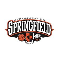 Basketballvereniging Springfield logo print