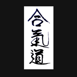 Aikido Den Haag Heiwakan logo print