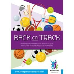 Back On Track logo print