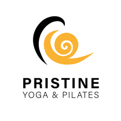 Pristine Yoga en Pilates logo print