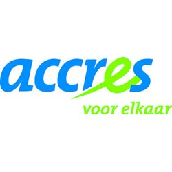Accres logo print