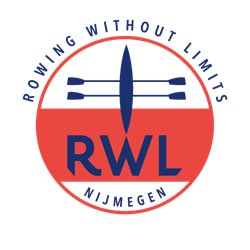 Rowing Without Limits logo print