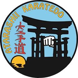 Atarashii logo print