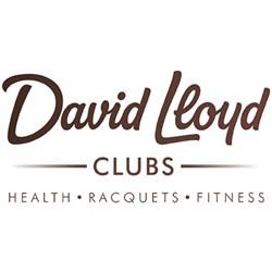 David Lloyd Sport- en Healthclub logo print